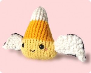 Free angel wings cute knitting pattern