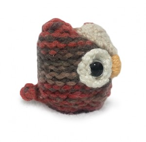 Owlies cute knit pattern