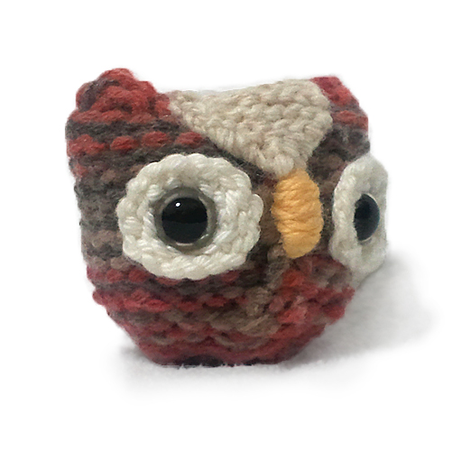 Free Knitting Patterns Stuffed Toys : FREE Owl Animal Stuffed Toys Knitting Pattern for Beginners!