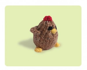Tiny Chicken animal stuffed toy