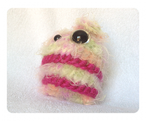 Cute Colorful Candy Floss Monster free knitting patterns