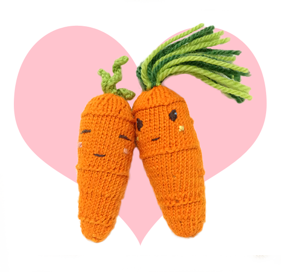Free Cool Carrot Cute Knitting Patterns | How to Video ...