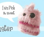 Pink & Colorful Candy Floss Monster free knitting patterns