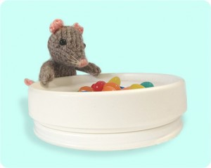 free mouse stuffed toy knitting pattern