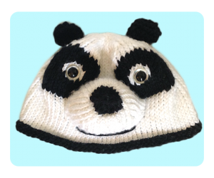 Free cute Panda Hat Knitting patterns