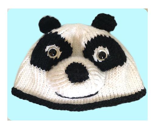Knitting Pattern For Panda Hat : Free Kungfu Panda Inspired Hat Knitting Pattern, with Video Tutorials!