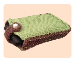 Free Knitting Patterns - Felt Cell Phone Case