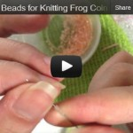 String Beads for Frog Coin Purse Cheek