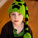Cute Creeper Hat