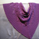 Winter Leaves Shawl
