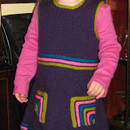Mitred Pocket Toddler Dress